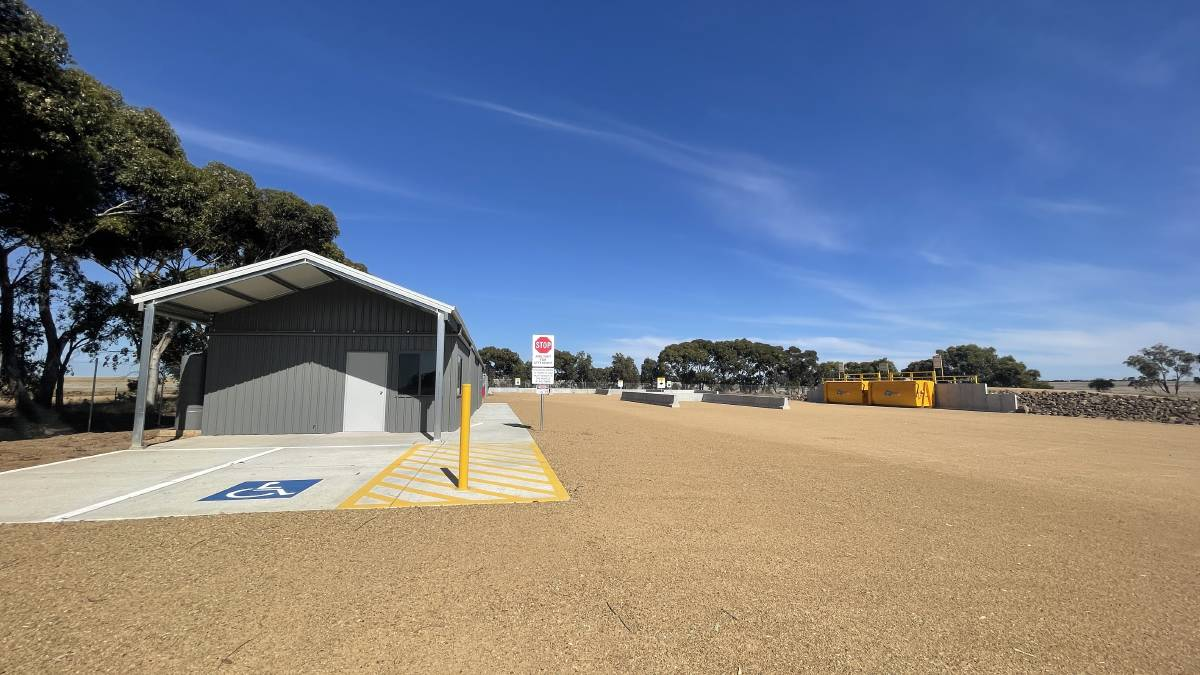 WASTE NOT: The newly built Lake Bolac Resource Recovery Centre. Picture: CONTRIBUTED