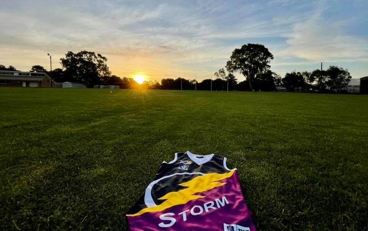 STORM FRONT: Ararat Storm made its long-awaited return to competitive football. Picture: KLAUS NANNESTAD