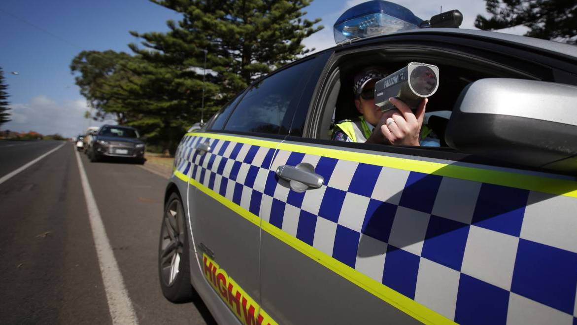 A slew of speeding offences, and unregistered vehicles