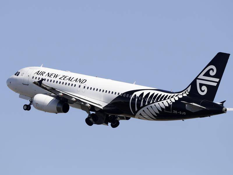 The first international flight into Tasmania in 23 years has arrived from New Zealand.