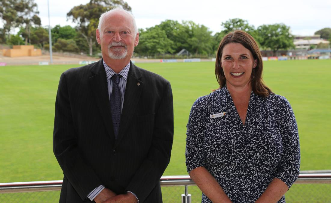 LEADERS ELECTED: ARCC mayor Cr Jo Armstrong and deputy mayor Cr Peter Beales. Picture: ARCC